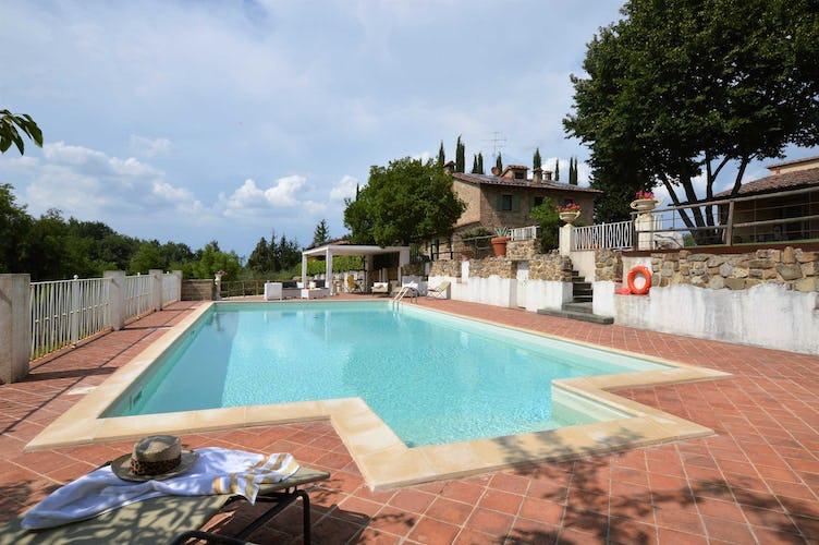 Villa La Fonte - La piscina, ampia e circondata dal verde