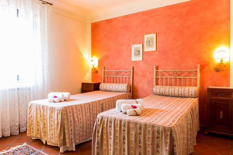 Villa La Fonte Vacation Rental - twin beds for kids or singles