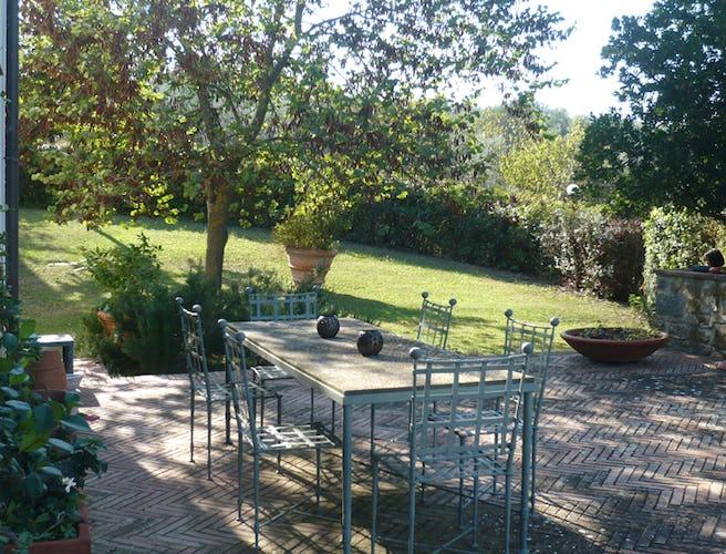 The Garden at Villa La Medicea in Chianti