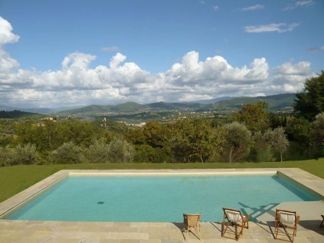 Panoramic Pool of Villa La Medicea Chianti Hills
