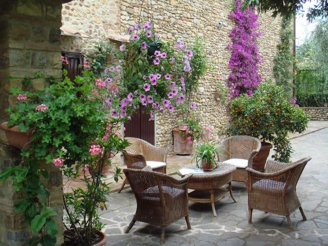 Relaxing at the Chianti Villa le Torri