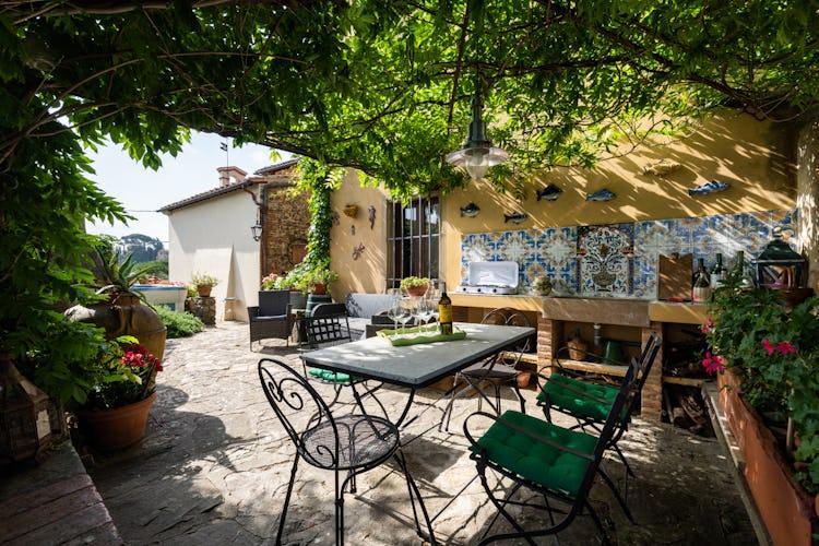 Villa Lysis - private garden