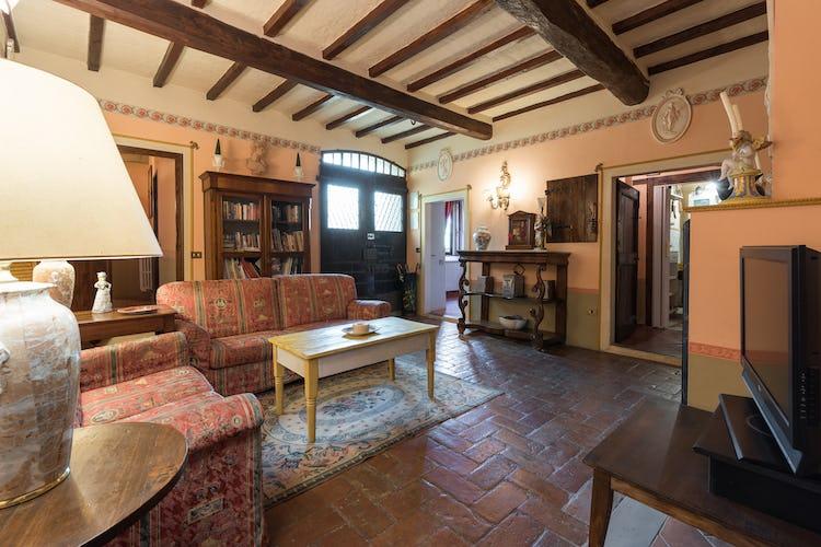 Villa Lysis - pavimenti di terracotta