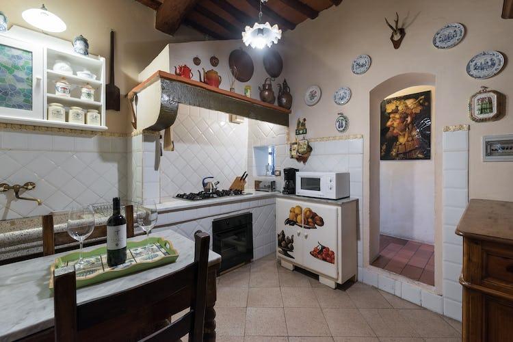 Villa Lysis - microwave &  American coffee maker