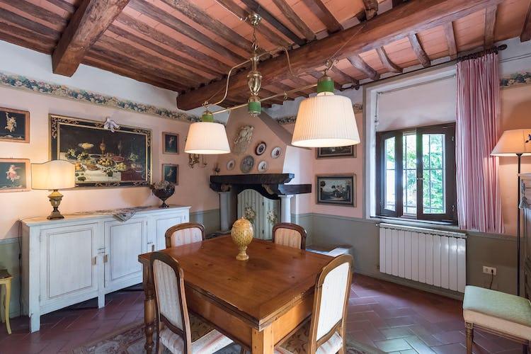 Villa Lysis -  Sogiorno con caminetto