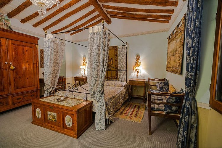 Spacious bedrooms, the villa accommodates up to 5 persons on holiday