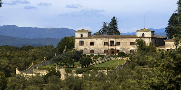 Authentic Villa Medicea di Lilliano only minutes from Florence