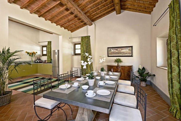 Luminous rooms and spacious living areas at Villa Lilliano