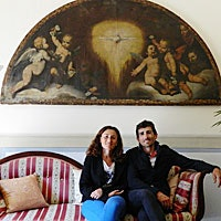 Liliana & Dante, proprietari della Villa Rossi Mattei