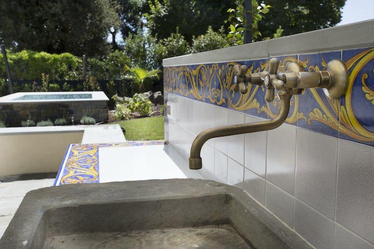 Villa Roveto: Outdoor kitchen