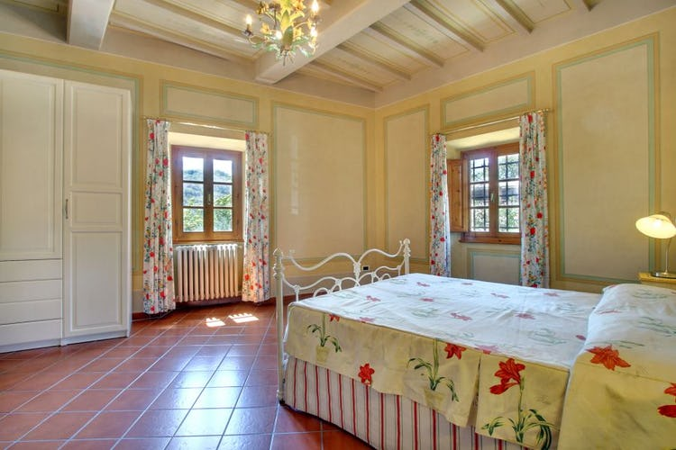 Natural light accents the rooms with fantastic views at Villa Stolli