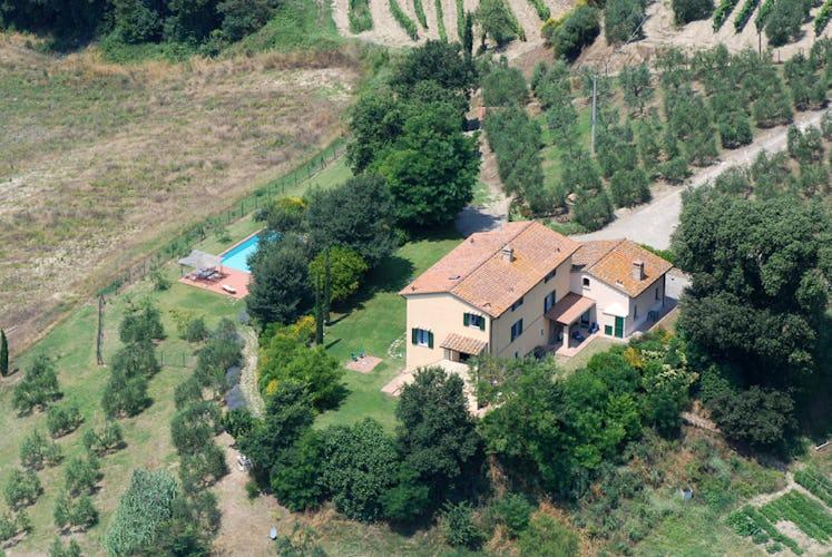 Villa Tiziana: circondata da argentei oliveti