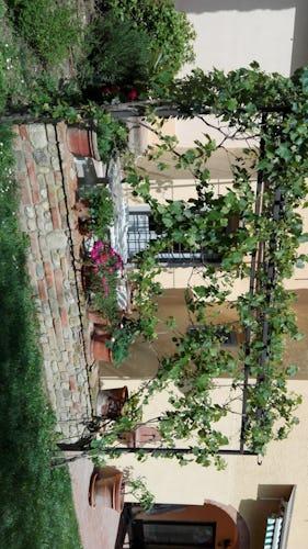 Villa Tiziana: il giardino curato nei minimi dettagli