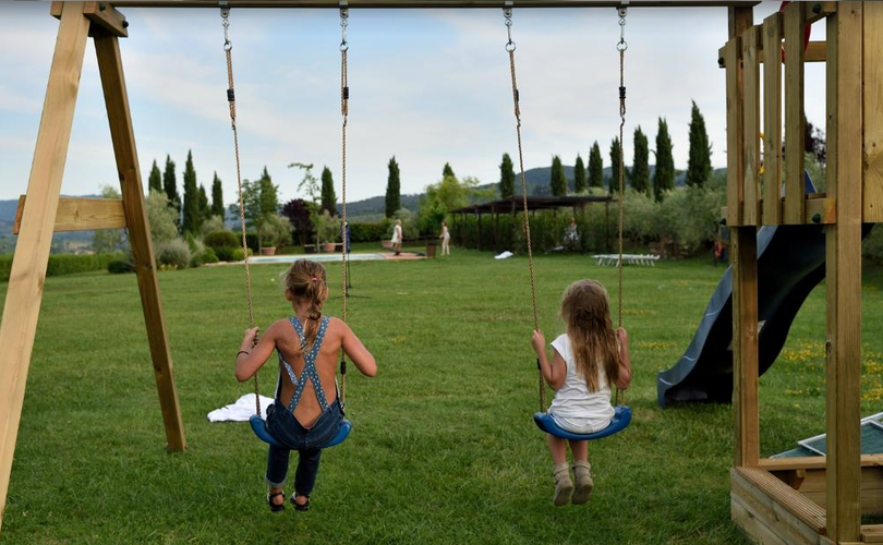 Fattoria Viticcio Rental Apartments & Vineyard: playground dedicated to the kids