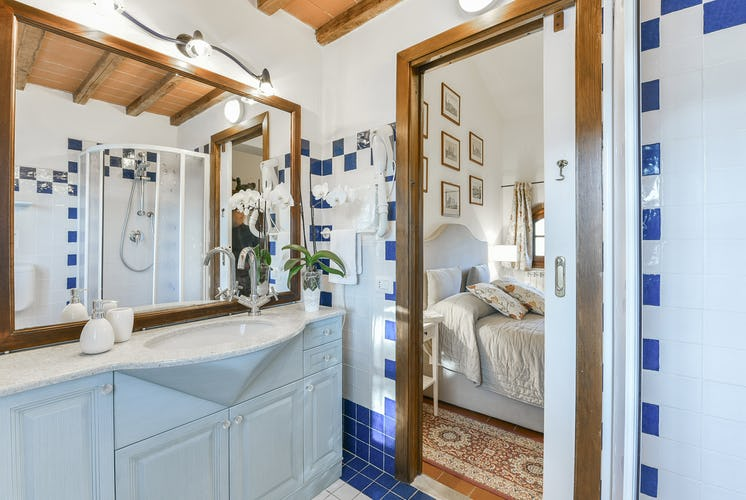 Fattoria Viticcio Rental Apartments & Vineyard: apartments with en suite bathrooms