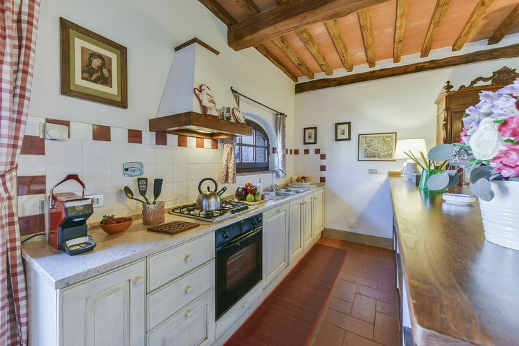 Fattoria Viticcio Rental Apartments & Vineyard: comfortable and useable kitchen area
