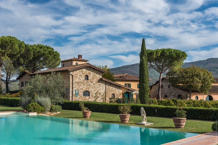 Fattoria Viticcio Rental Apartments & Vineyard: large shared pools
